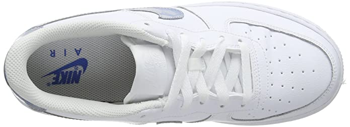 online retailer 17532 476ed Amazon.com   NIKE Youth Air Force 1 Grade School Leather Trainers   Sneakers