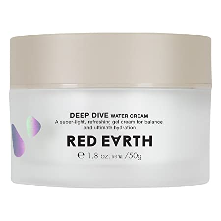 Red Earth DEEP DIVE Water Gel Cream For Face – Plumping And Hydrating Moisturizing Cream – Gel Type Sleep Mask And Face Cream For Dry Skin