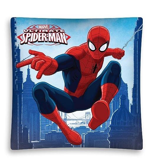 Marvel Spiderman 3 Reversible decorativo funda para cojín ...