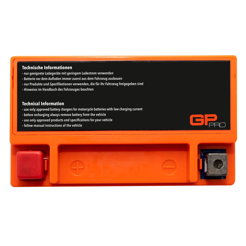 Akkumulator Motorrad Roller Motorradbatterie Rollerbatterie /Ähnlich YTX9-BS // YTX9L-BS GP-PRO GTX9-BS 12V 9Ah Gel-Batterie Wartungsfrei // Versiegelt