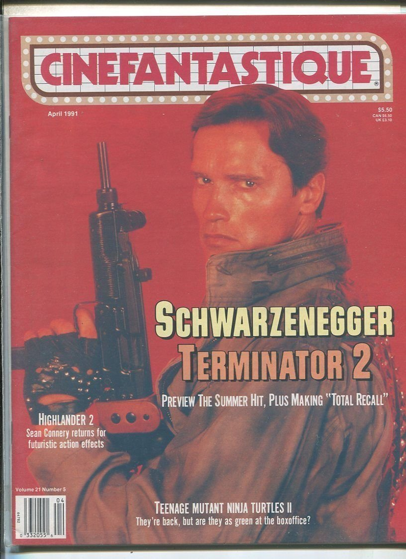 Amazon.com: Cinefantastique Vol. 21#5 April 1991 ...