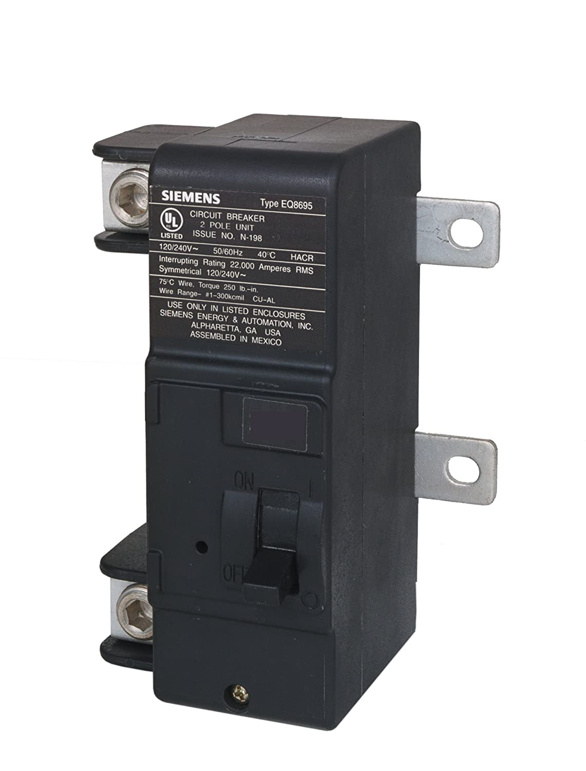 Murray MBK200M 200-Amp Main Circuit Breaker for Use in Rock Solid Type Load Centers