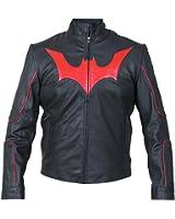 Bat Logo Lego Leather jacket