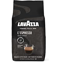 Lavazza LEspresso Gran Aroma Whole Bean Coffee Blend Medium Espresso Roast 2.2-Pound Bag