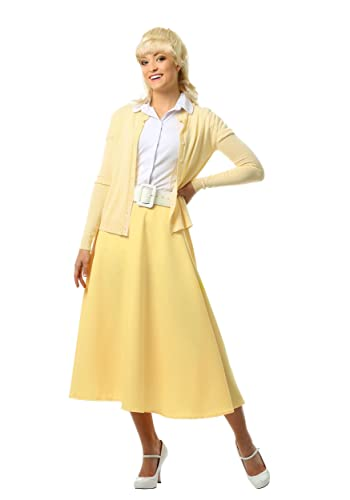 1950s Housewife Dress | 50s Day Dresses Grease Good Sandy Costume $49.99 AT vintagedancer.com