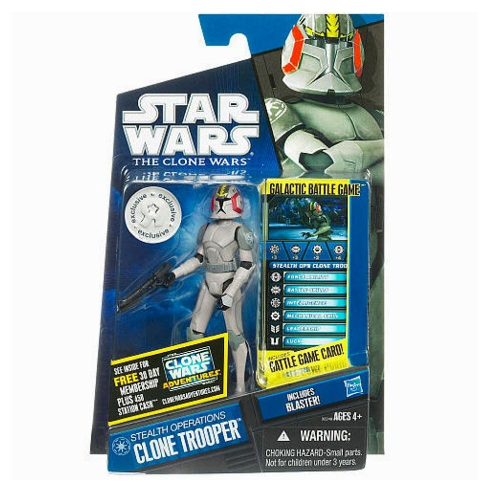 Star Wars 32249 Star Wars Figur Stealth Operations Clone Trooper mit Battle Karte