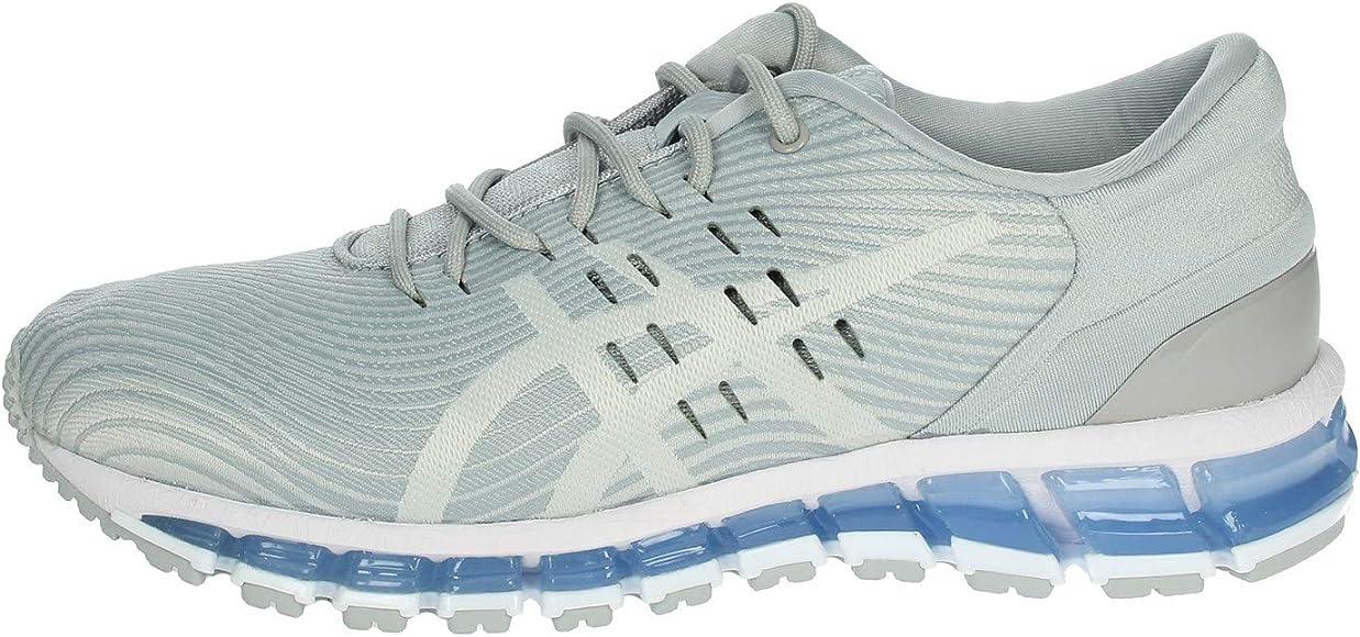 Asics Gel-Quantum 360 4, Zapatillas de Running para Mujer, Gris (Mid Grey/Glacier Grey 022), 35.5 EU: Amazon.es: Zapatos y complementos
