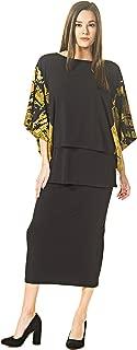 product image for Eva Varro Women's Calf Length Dbl WB Straight Skirt