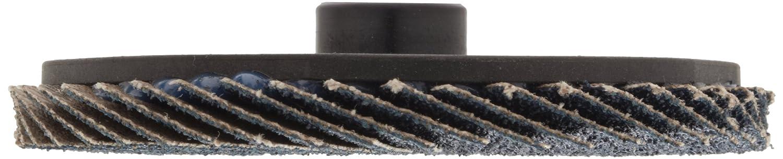 Weiler 50916 BobCat 2 Diameter Zirconium 40 Grit Plastic Backing Type 27 Specialty Abrasive Flap Mini Disc Weiler Corporation