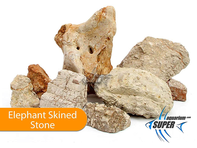 10 kg Shrimp Plant Tank Terrarium Elephant Skined Stone Color Tropical Fish Super Aquarium Decoration /& Natural Rock