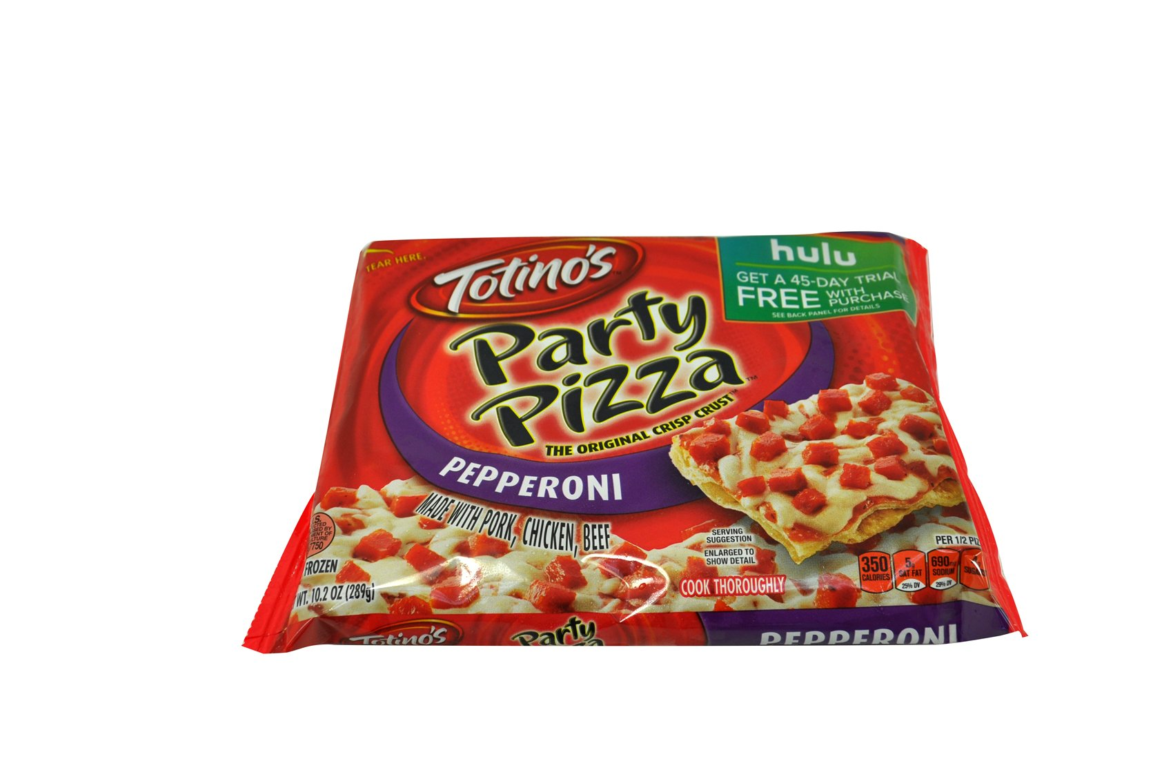 Totino's Party Pizza, Pepperoni, 10.2 oz., (14 count)
