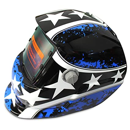 Welding Helmets|Solar Energy Automatic Changeable Light Darkening Electric Welding Helmet Natural Pattern Welder Grinding