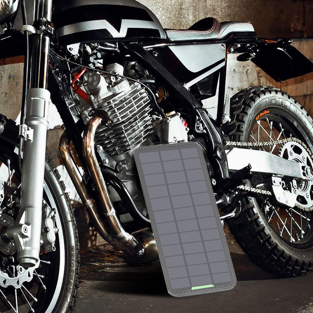 12V Car//Boat//RV Battery iPad GIARIDE 21W 18V Portable Foldable Solar Charger 5V USB 18V DC Output Sunpower Solar Panel for Tablet Camping Travel Galaxy iPhone