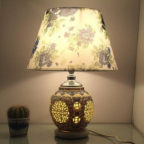 bbslt cerámica simple lámpara de mesa salón dormitorio de ...