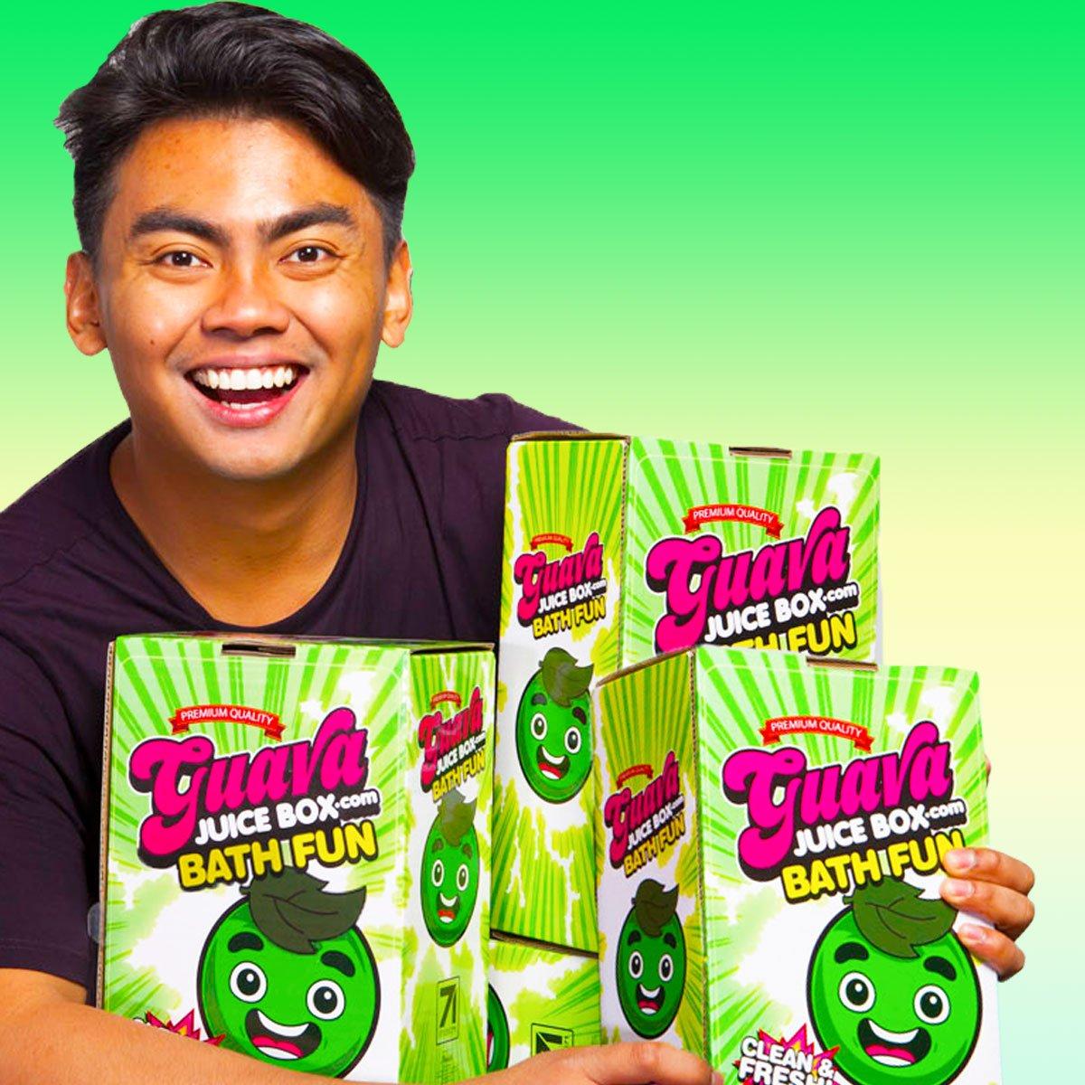 Guava Juice Box Bath Fun Kit Studio71