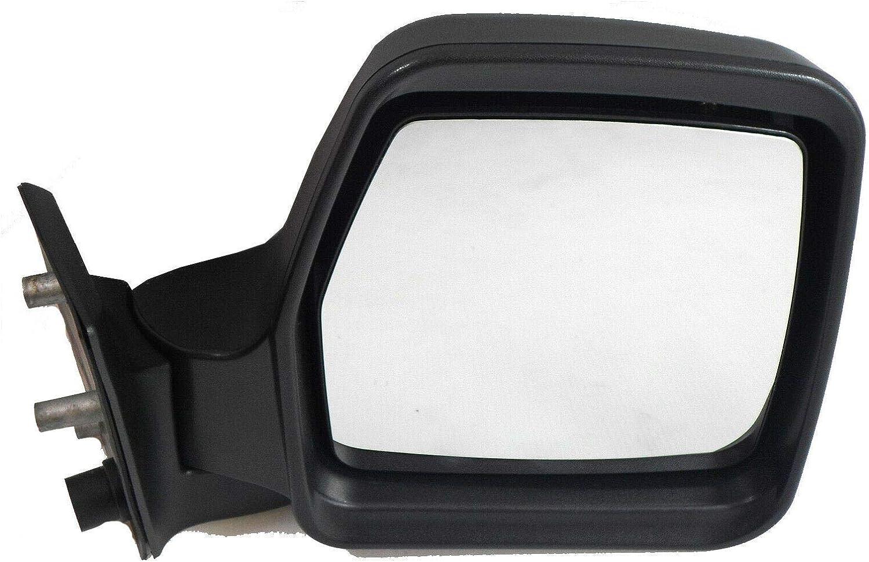VY52845#2 Van Demon Right Hand Black Manual Door Mirror for Fiat Scudo 95-07