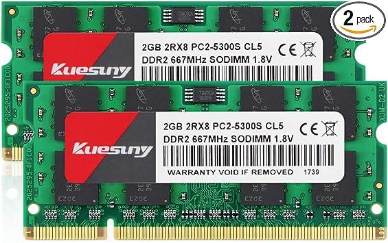 RAM Memory Upgrade for The ASUS P5 Series P5B Desktop Board 2GB DDR2-667 90-MBB4E5-G0UAYZ PC2-5300
