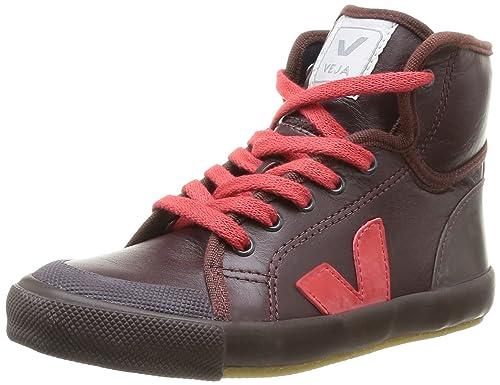 VEJA Spma Leather - Zapatillas para niños, Morado - Violet (Burgundy Pekin), 39: Amazon.es: Zapatos y complementos