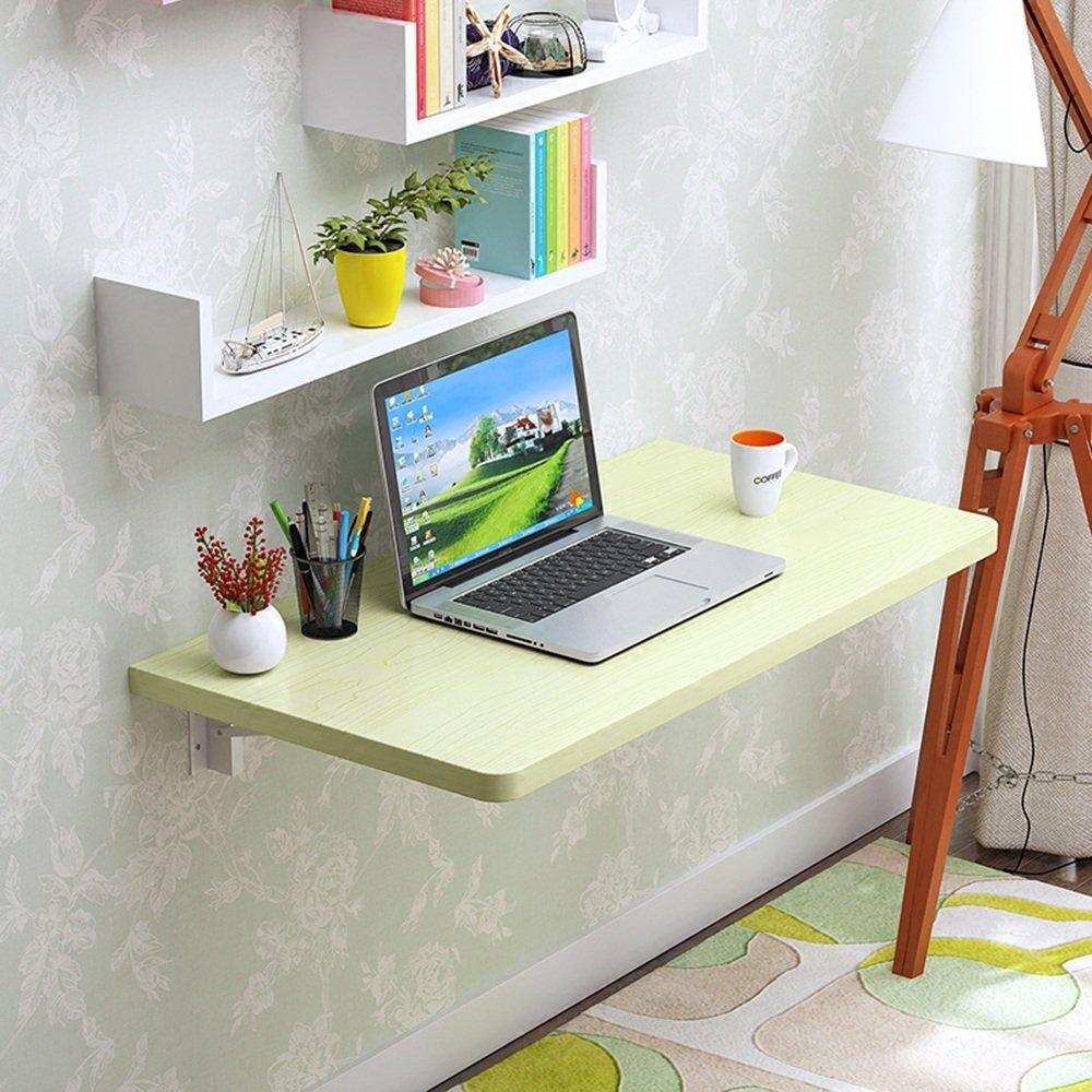 マチョン コンピュータデスク 木製折りたたみテーブルは様々なサイズから選択できます (色 : イエロー いえろ゜, サイズ さいず : 50*40cm) B07F62FTF8 50*40cm|イエロー いえろ゜ イエロー いえろ゜ 50*40cm