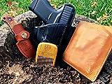 MANEJACK Boar Bristle Beard & Hair Brush Set for