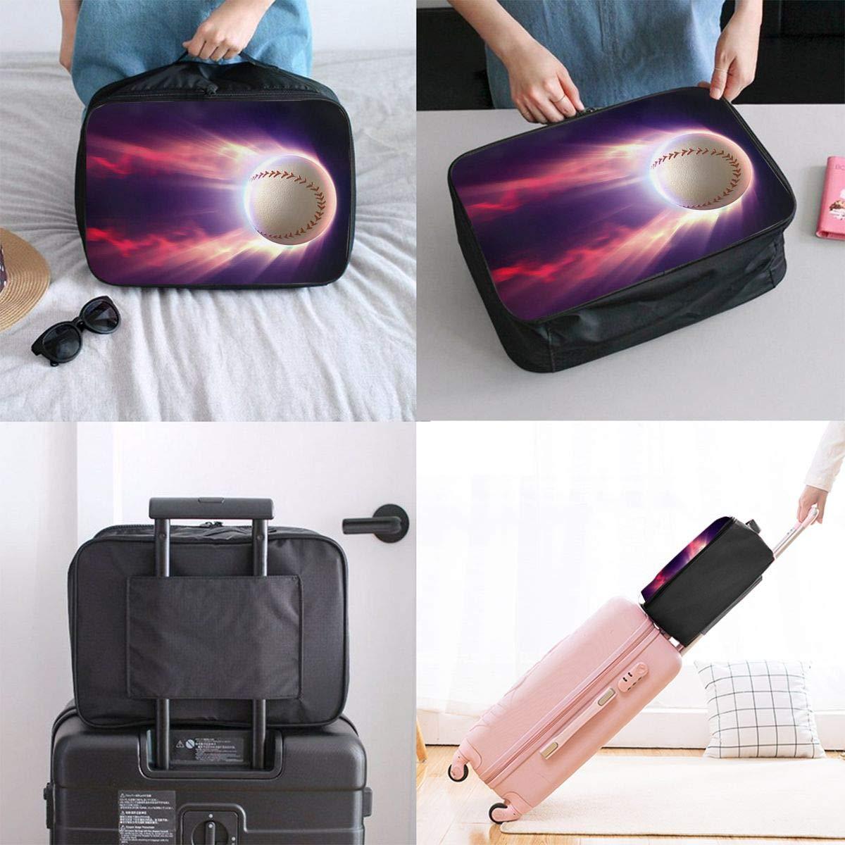 Travel Luggage Duffle Bag Lightweight Portable Handbag Baseball Large Capacity Waterproof Foldable Storage Tote