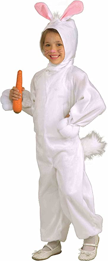 Forum Novelties Disfraz de Conejo Polar para niños, Talla pequeña ...