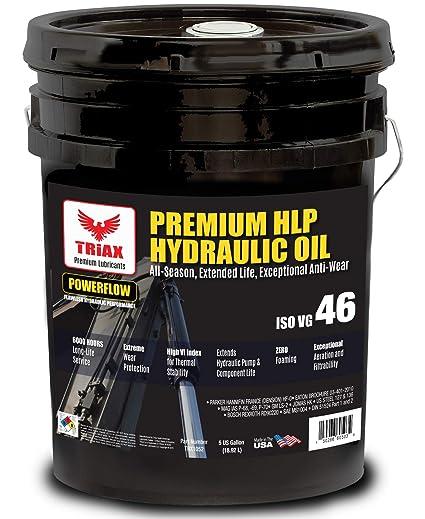 Triax POWERFLOW HLP ISO 46 - Aceite hidráulico Medio - 6000 Horas ...