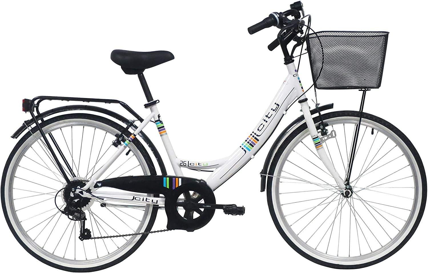 Bicicleta de montaña para Mujer, 26 Pulgadas, 6 velocidades ...