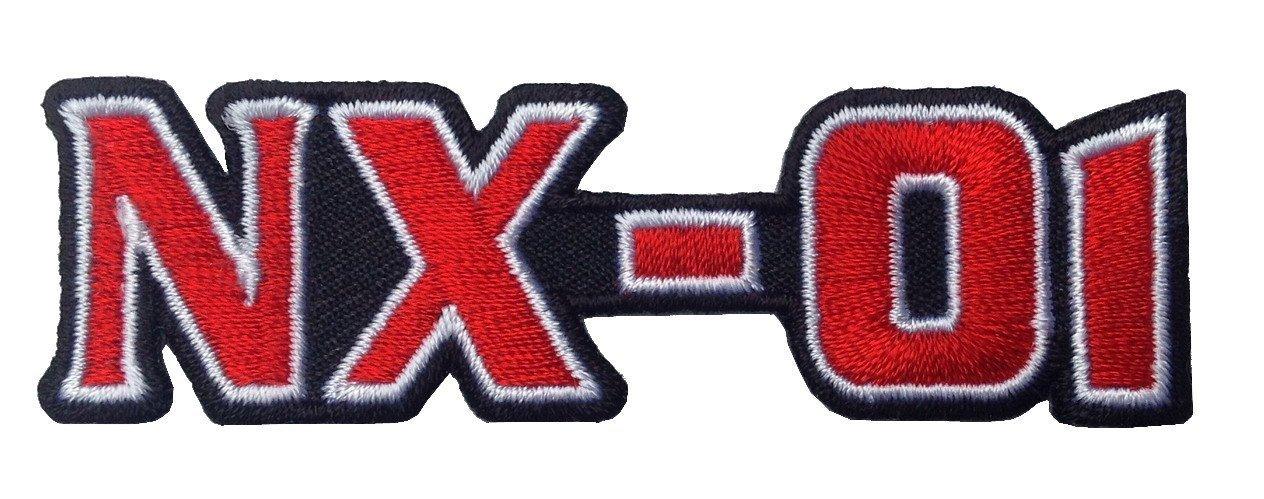 Titan One Europe Star Trek NX-01 Enterprise Logo Iron On Costume Cosplay Patch Iron On Aufn/äher Aufb/ügler Patch