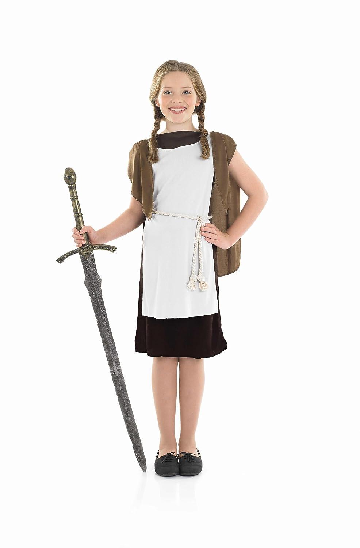 9d9e3045880 Girls Viking Girl Costume For Nordic Fancy Dress Kids Childrens XL Age  10-12 years