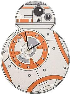 Vandor Star Wars Episode VII BB-8 Shaped Deco Wall Clock (99189)