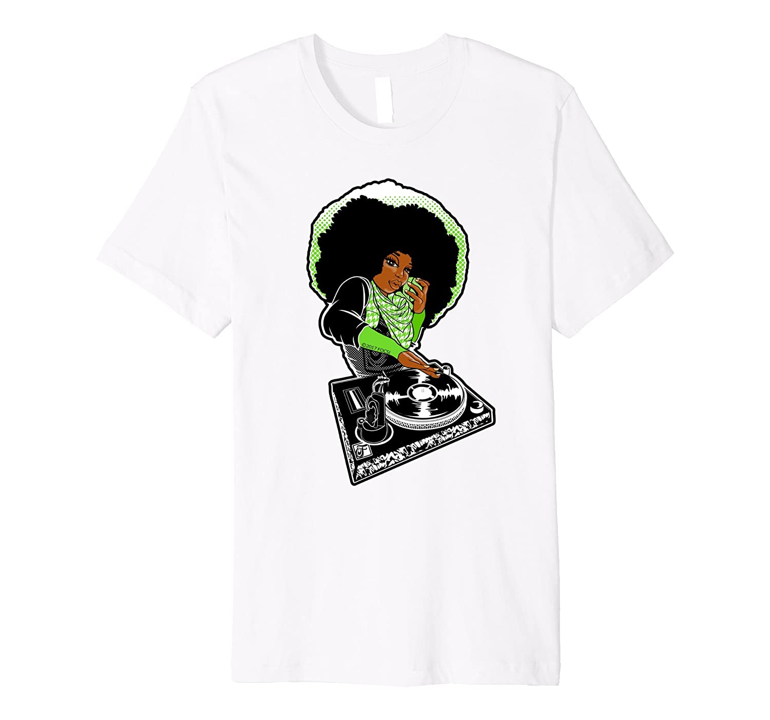 66597dee1 Focsi Femcee DJ Downtown Focsi Brown T-Shirt-Hip Hop-TJ – theteejob