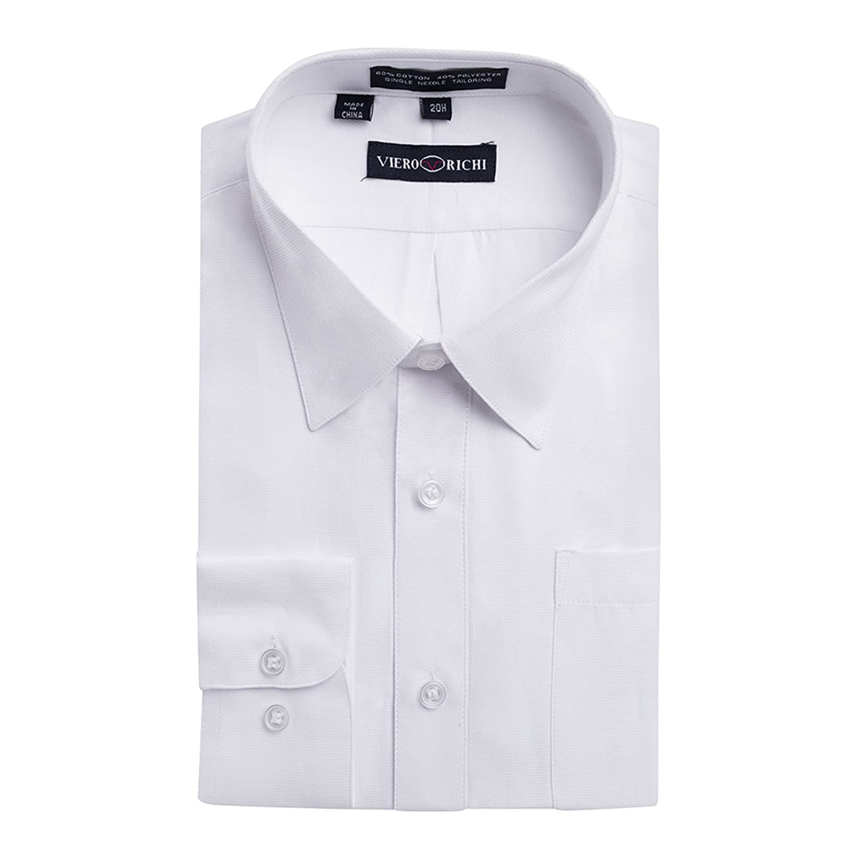 Viero Richi Boys 4 20 Long Sleeve Dress Shirt Regular Husky Sizes