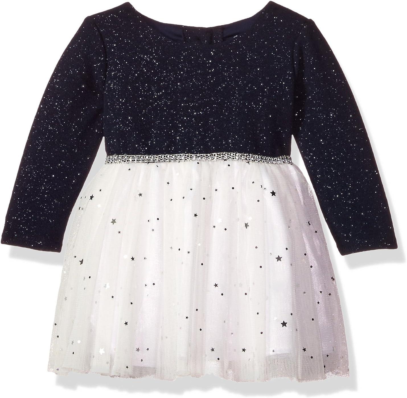 Youngland Baby Girls Sparkle Dot Mesh Skirt