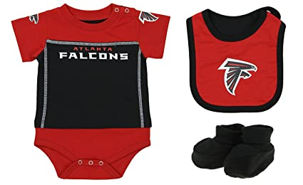 69918ff7 Outerstuff NFL Baby Boys Newborn Infant Lil' Jersey 3 Piece Bodysuit Set