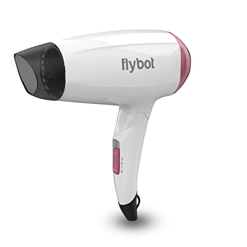 1600W Foldable Hair Dryer With 3 Speed and Heat Settings