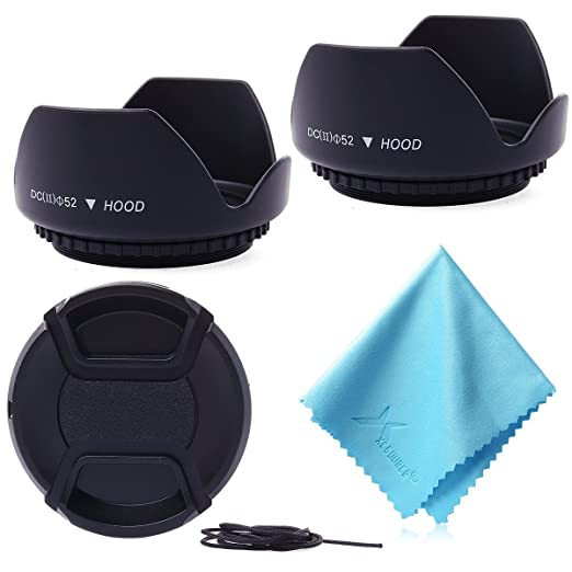 35 opinioni per Accessori Kit 52mm Paraluce Hood +