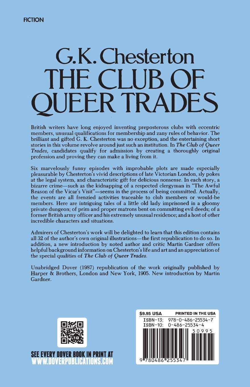 The Club of Queer Trades [with Biographical Introduction]