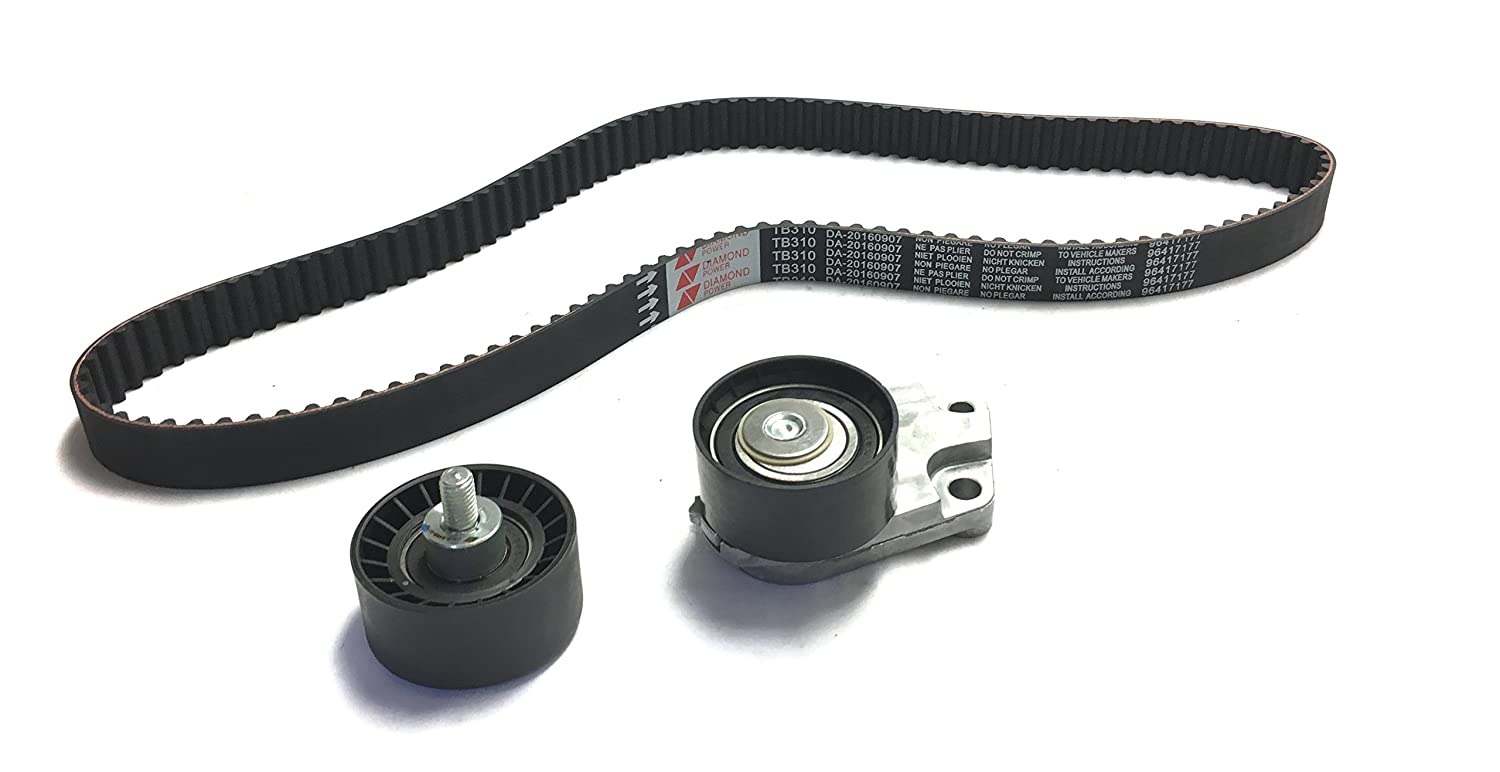 Amazon.com: Diamond Power Timing Kit Belt works with Chevrolet Aveo 1.6L DOHC 2004 05 06 07 2008: Automotive