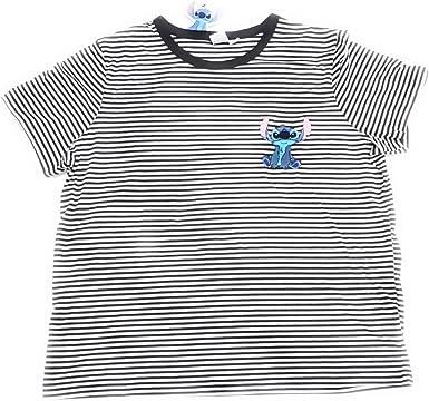 Primark Camiseta - Para Mujer Blanco y Negro 46: Amazon.es ...