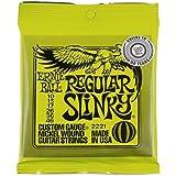 Ernie Ball 2221x3 10-46 Regular Slinky Electric Guitar Strings (Pack of 3)