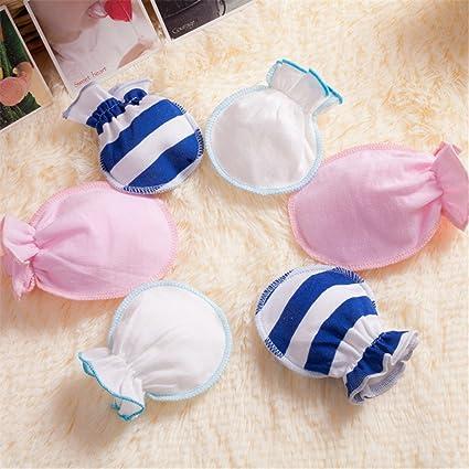 Affe 3 pares/lot recién nacido niños niñas guantes - Manoplas ...