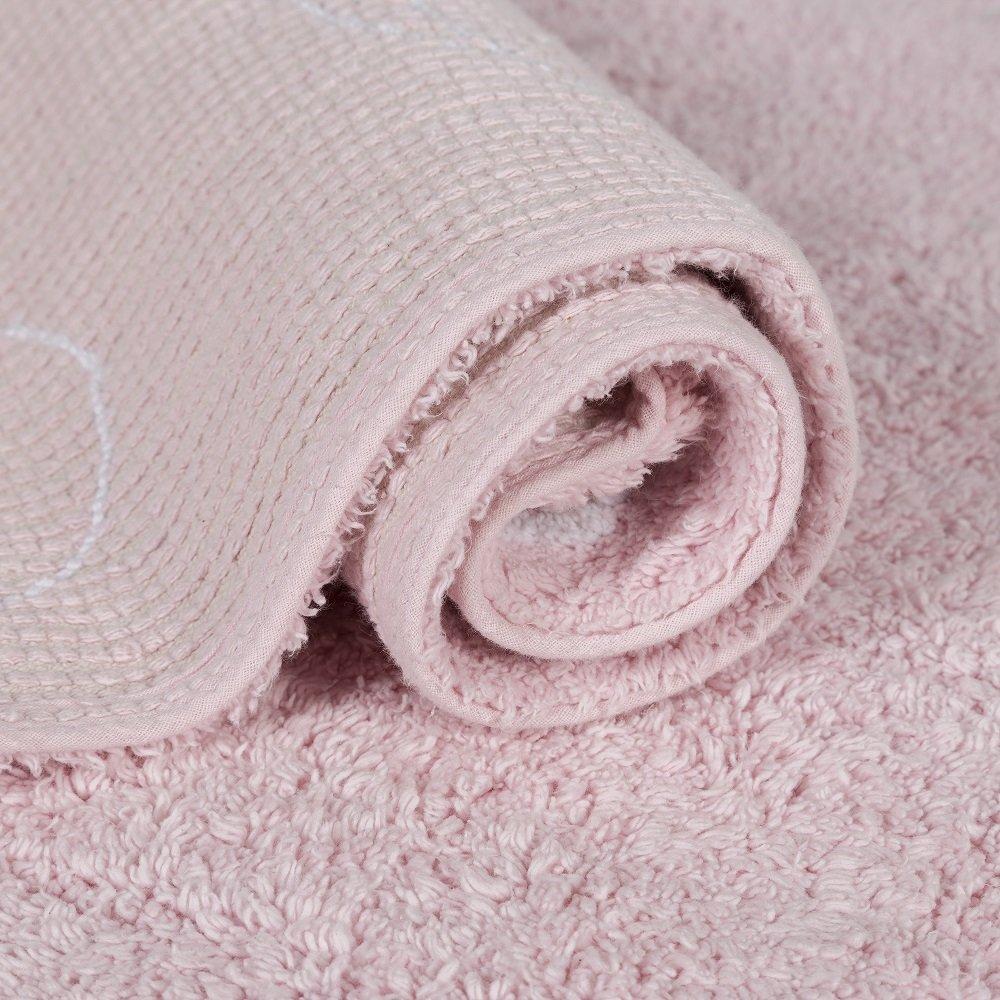 Lorena Canals Alfombra Infantil Lavable Modelo Cielo Color Rosa