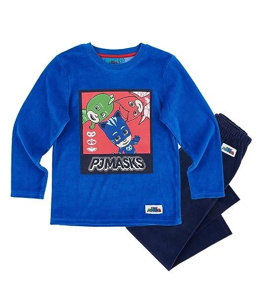 PJ Masks Chicos Pijama (Velour) - Azul - 98