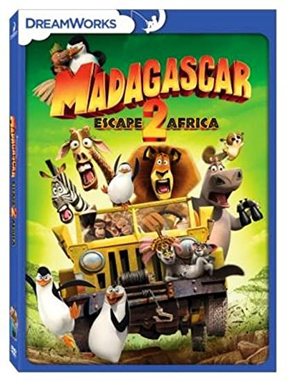 Amazon in: Buy Madagascar: Escape 2 Africa DVD, Blu-ray