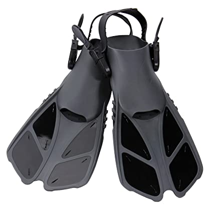 amazon com capas snorkel fins swim fins travel size short