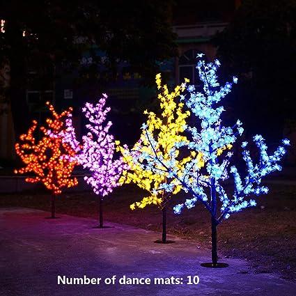 Amazon.com: Esterilla de baile 3D doble Yoga Somatosensory ...
