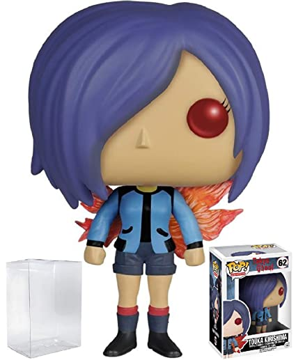 Funko Pop! Anime: Tokyo Ghoul - Touka Kirishima Vinyl Figure (Bundled with  Pop BOX PROTECTOR CASE)