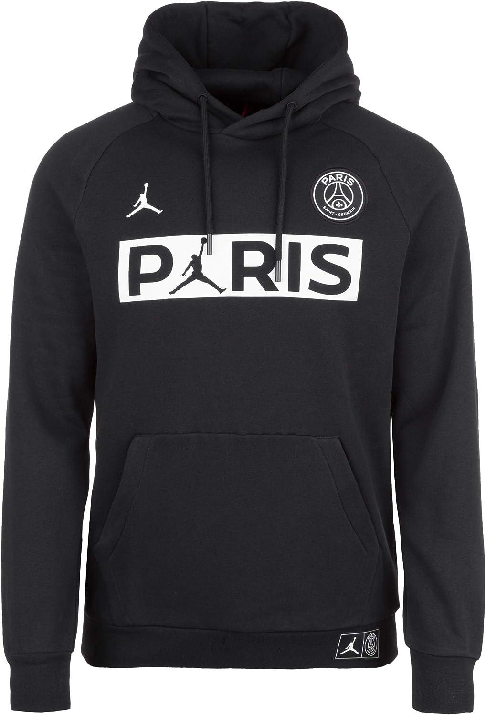 Jordan Sweats À Capuche PSG Jumpman Fleece Noir XS (X Small