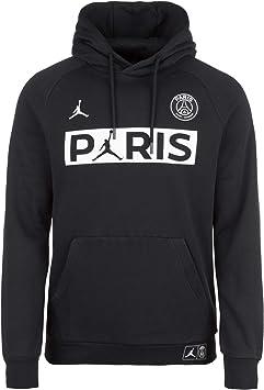 Repeler Extremo Campo  Nike Paris Saint-Germain Hoodie Men: Amazon.co.uk: Clothing